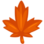🍁 Facebook / Messenger «Maple Leaf» Emoji - Messenger Application version