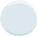 Emoji para Facebook ⚪ - White Circle Messenger