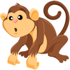 🐒 Смайлик Facebook / Messenger Monkey - В Facebook Messenger'е