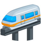 🚝 Смайлик Facebook / Messenger Monorail - В Facebook Messenger'е