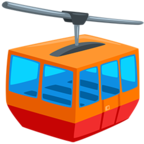 🚠 Facebook / Messenger «Mountain Cableway» Emoji - Messenger Application version