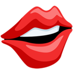 Смайлик Facebook 👄 - Mouth В Messenger'е