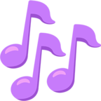 🎶 Facebook / Messenger Musical Notes Emoji - Facebook Messenger