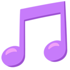 Facebook Emoji 🎵 - Musical Note Messenger