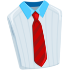 👔 Facebook / Messenger Necktie Emoji - Facebook Messenger
