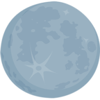 🌑 Facebook / Messenger «New Moon» Emoji - Messenger Application version