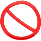 Facebook Emoji 🚫 - Prohibited Messenger