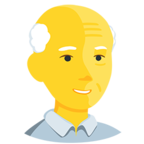 Facebook Emoji 👴 - Old Man Messenger