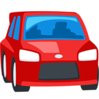 Facebook Emoji 🚘 - Oncoming Automobile Messenger