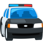 🚔 Facebook / Messenger Oncoming Police Car Emoji - Facebook Messenger