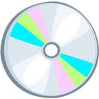 💿 Facebook / Messenger «Optical Disk» Emoji - Messenger Application version