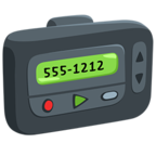 📟 Facebook / Messenger Pager Emoji - Facebook Messenger