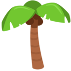 Emoji para Facebook 🌴 - Palm Tree Messenger