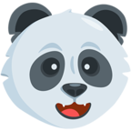 Facebook Emoji 🐼 - Panda Face Messenger