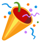 🎉 Facebook / Messenger Party Popper Emoji - Facebook Messenger