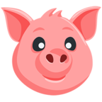 🐷 Facebook / Messenger Pig Face Emoji - Facebook Messenger