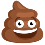 💩 Смайлик Facebook / Messenger Pile of Poo - В Facebook Messenger'е