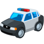 Facebook Emoji 🚓 - Police Car Messenger