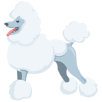 🐩 Смайлик Facebook / Messenger Poodle - В Facebook Messenger'е