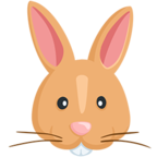 Facebook Emoji 🐰 - Rabbit Face Messenger