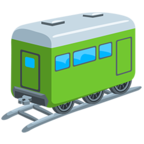 🚃 Facebook / Messenger «Railway Car» Emoji - Messenger Application version