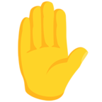 ✋ Facebook / Messenger Raised Hand Emoji - Facebook Messenger