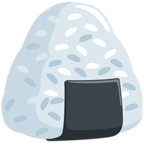 Facebook Emoji 🍙 - Rice Ball Messenger