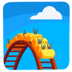 🎢 Facebook / Messenger «Roller Coaster» Emoji - Messenger Application version