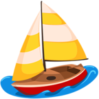 ⛵ Facebook / Messenger «Sailboat» Emoji - Messenger Application version