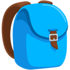 🎒 Facebook / Messenger School Backpack Emoji - Facebook Messenger