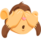 🙈 Facebook / Messenger «See-No-Evil Monkey» Emoji - Messenger Application version