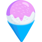 Смайлик Facebook 🍧 - Shaved Ice В Messenger'е