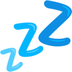 💤 Смайлик Facebook / Messenger Zzz - В Facebook Messenger'е