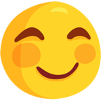 Facebook Emoji 😊 - Smiling Face With Smiling Eyes Messenger
