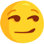 😏 Smirking Face Emoji para Facebook / Messenger - Facebook Messenger