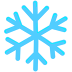 ❄ Facebook / Messenger Snowflake Emoji - Facebook Messenger