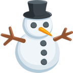 ⛄ Facebook / Messenger Snowman Without Snow Emoji - Facebook Messenger