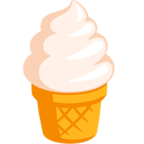 Смайлик Facebook 🍦 - Soft Ice Cream В Messenger'е