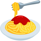 🍝 Facebook / Messenger Spaghetti Emoji - Facebook Messenger