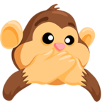 Facebook Emoji 🙊 - Speak-No-Evil Monkey Messenger