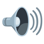 🔊 Facebook / Messenger Speaker High Volume Emoji - Facebook Messenger