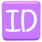 Facebook Emoji 🆔 - ID Button Messenger