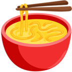 Смайлик Facebook 🍜 - Steaming Bowl В Messenger'е