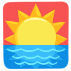 Facebook Emoji 🌅 - Sunrise Messenger