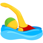 Facebook Emoji 🏊 - Person Swimming Messenger