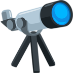 🔭 Facebook / Messenger Telescope Emoji - Facebook Messenger