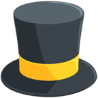 🎩 Facebook / Messenger Top Hat Emoji - Facebook Messenger