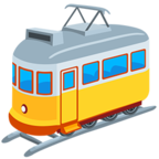 🚋 Facebook / Messenger «Tram Car» Emoji - Messenger Application version
