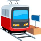 🚊 Facebook / Messenger Tram Emoji - Facebook Messenger