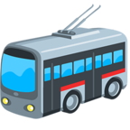 🚎 Facebook / Messenger Trolleybus Emoji - Facebook Messenger